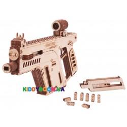 Механическая сувенирно-коллекционная модель Wood Trick Штурмовая винтовка ФР-00000324