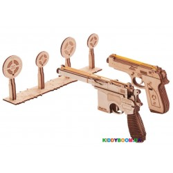 Механичная сувенирно-коллекционная модель ТИР Wood Trick ФР-00000322