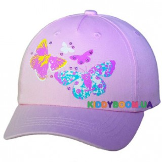 Бейсболка Бабочки р.50, 52, 54 Yo CZD-030