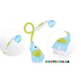Игрушка для ванны Детский душ Слоник, голубой Yookidoo 40159