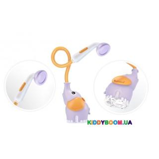 Игрушка для ванны Детский душ Слоник, сиреневый Yookidoo 40160