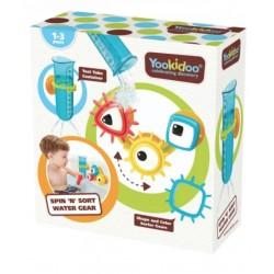 Игрушка для воды Yookidoo Разноцветные шестеренки