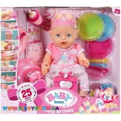 Пупс Baby Born Happy Birthday Zapt Creation 822036