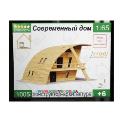 Конструктор - архитектура Современный дом Мир творчества 1005