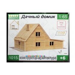 Конструктор - архитектура Дачный домик Мир творчества 1015