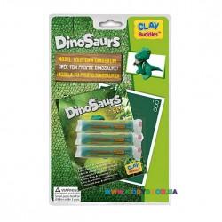 Набор для лепки CLAY Buddies базовый Динозавры – Тираннозавр Рекс 308271