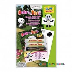 Набор для лепки CLAY Buddies базовый Маша и Медведь – Панда 309001