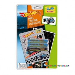 Набор для лепки CLAY Buddies базовий Hot Wheels – Dodger 309063