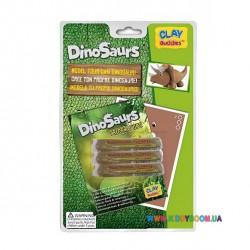 Набор для лепки CLAY Buddies базовый Динозавры – Трицератопс 309117