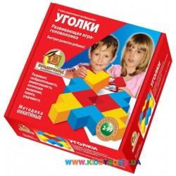 Деревянная игрушка Уголки. Методика Никитиных K-004