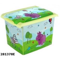 Ящик для игрушек Prima Baby Hippo 281378E