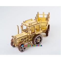 """3Д модель Трактор с прицепом """"ЮМЗ-6"""" (111дет) ekoGOODS 19871989"""