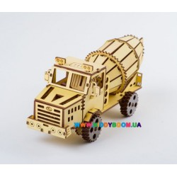 3Д модель Грузовик Краз Бетономешалка (235дет) ekoGOODS 19871995