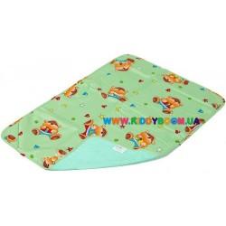 Детская непромокаемая пеленка Classic бязь, 50*70 см Экопупс