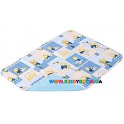 Детская непромокаемая пеленка Classic бязь, 65*90 см Экопупс