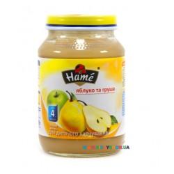 Пюре Hame Яблоко-груша (с 4 мес.) 190 гр.