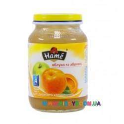 Пюре Hame Яблоко-абрикос (с 4 мес.) 190 гр.