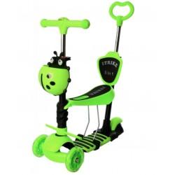 Самокат-беговел детский трехколесный (5 в 1) iTrike JR 3-026-GR MAXI Зеленый