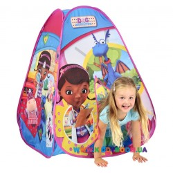 Лицензионная игровая палатка ДОКТОР ПЛЮШЕВА Disney 6634