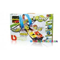 Игровой набор Трек Захватывающие Гонки серии GoGears Bburago 18-30262