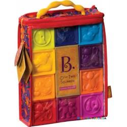 Развивающая игрушка Силиконовые кубики Посчитай-ка! Battat BX1002Z