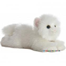 Мягкая игрушка Кошка ангорская белая 28 см Aurora 110639G