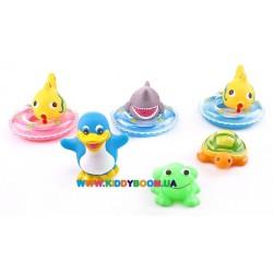 Набор игрушек для купания Веселое купание Курносики 25082