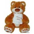 Мягкая игрушка Медведь Мемедик бурый 30 см. Тигрес ВЕ-0066