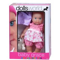 Пупс Грейс Dolls World 8536
