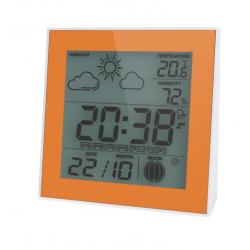 Цифровой термогигрометр с часами Стеклоприбор Т-06