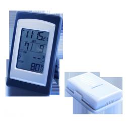 Цифровой беспроводной термометр с часами Стеклоприбор Т-05