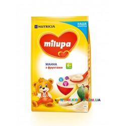 Каша молочная Milupa манная с фруктами (с 6 мес) 210 гр.