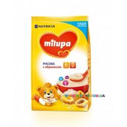 Каша молочная Milupa рисовая с абрикосом (с 5 мес) 210 гр.