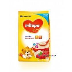 Каша молочная Milupa рисовая с малиной (с 5 мес) 210 гр.