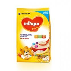 Каша молочная Milupa кукурузно-рисовая с бананом (с 5 мес) 210 гр.