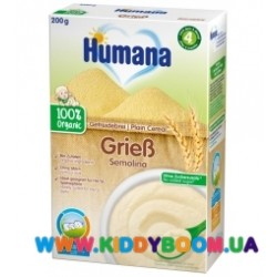 Каша безмолочная Humana пшеничная (с 6 мес.) 200 гр