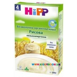 """Безмолочная органическая каша """"Рисовая"""" (с 4 мес.) 200 гр Hipp"""