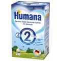 Сухая молочная смесь Humana 2 с пребиотиками (600 г)