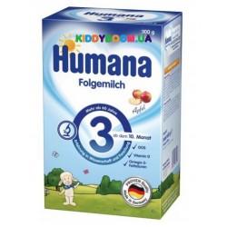 Молочная смесь Humana 3 с яблоком с 10 мес. (300 г)