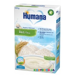 Каша молочная Humana Рисовая (200 гр)