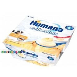 Продукт кисломолочный Humana банан c (6-ти мес.) 4 х 100 г