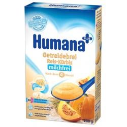 Каша безмолочная Humana рисовая с тыквой (с 4 мес.) 200 гр