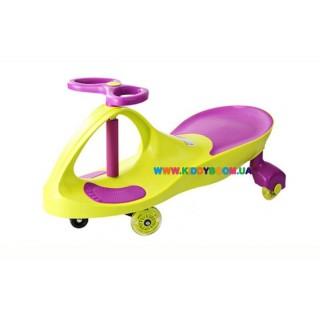 Детская машинка SMART CAR green+purple Kidigo SM-GP-1