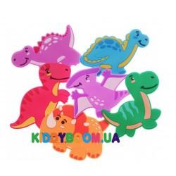 Набор игрушек для купания на присосках Kinderenok Дино 050917