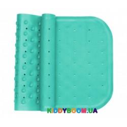 Антискользящий резиновый коврик на присосках (бирюзовый) для ванны Kinderenok 071113-005