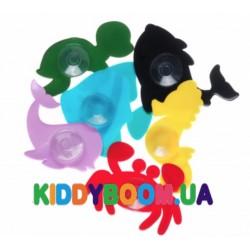 Набор игрушек для купания на присосках Kinderenok Животные Водный мир 170717