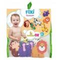 Набор игрушек для купания на присосках Зоопарк Kinderenok 251218