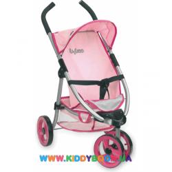 Коляска трехколесная для кукол серии Byboo Pink Loko Toys 97070