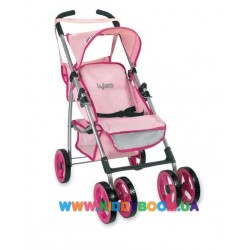 Коляска летняя для кукол серии Byboo Pink Loko Toys 97040