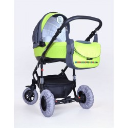 Чехлы на колеса на липучке 16-29 см. Baby Breeze 0336